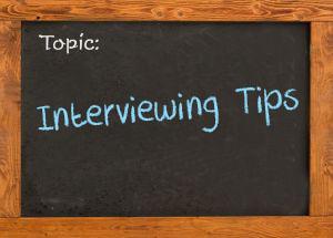Interviewing Tips - Goldbeck's Blog