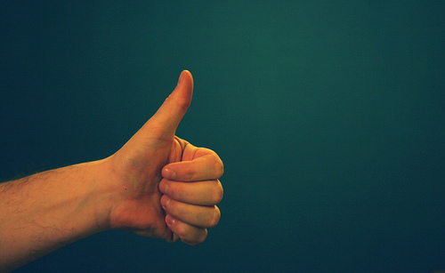 thumbs up - reid